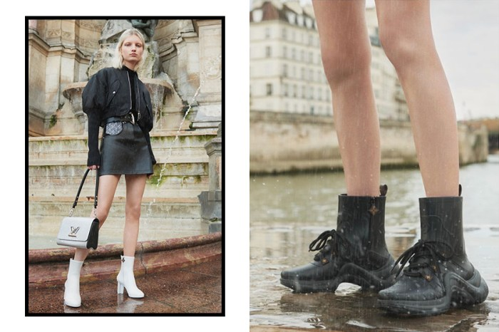 Louis Vuitton 推出「Rain」系列雨靴,運動型這款根本就是日常單品!