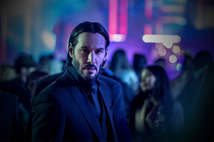 matrix john wick 4 same day release Keanu Reeves