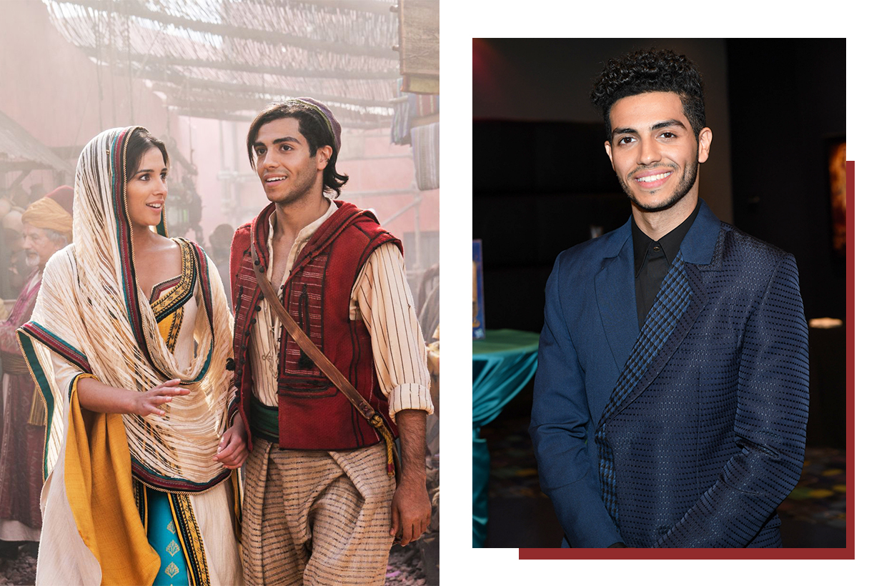 Mena Massoud Aladdin 2019 Disney Real Life Action Movie Naomi Scott Hollywood Actors Actresses not getting audition icon roles