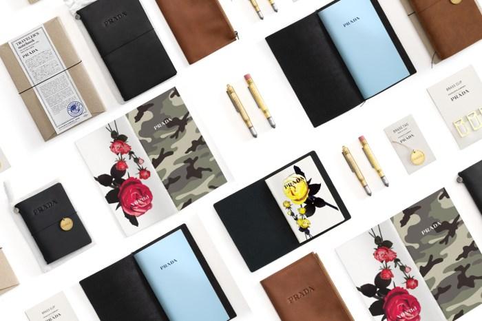 攜手日本半百品牌:Prada x Midori 推出限量系列,文具控絕對不能放過!