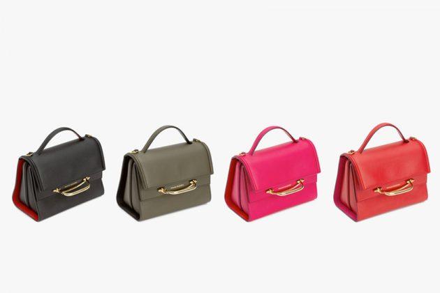 Alexander McQueen story handbag new it 3 way