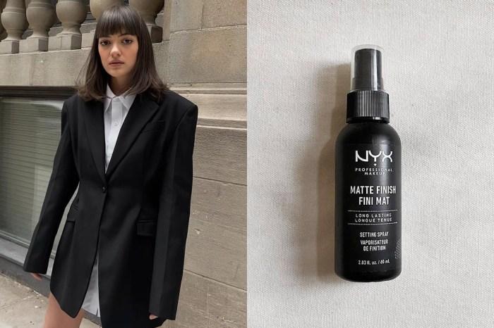 超過 3 千個好評:有了 NYX 這款定妝噴霧,以後就不用再帶化妝品補妝了!