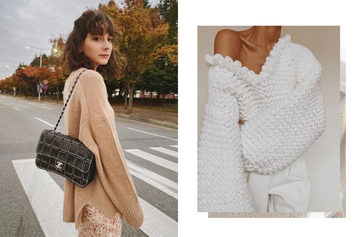 只想慵懶地度過冬日?一件舒適的大毛衣,讓你恨不得天天穿!