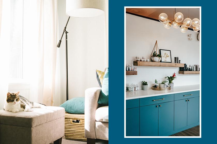 pantone classic blue home design decor living