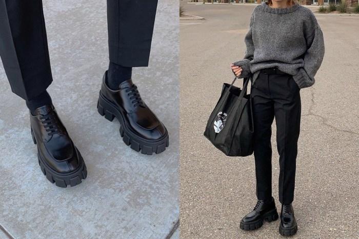 它不是普通的牛津鞋!Prada 新款皮鞋令這對 Ugly Shoes 熱潮回歸