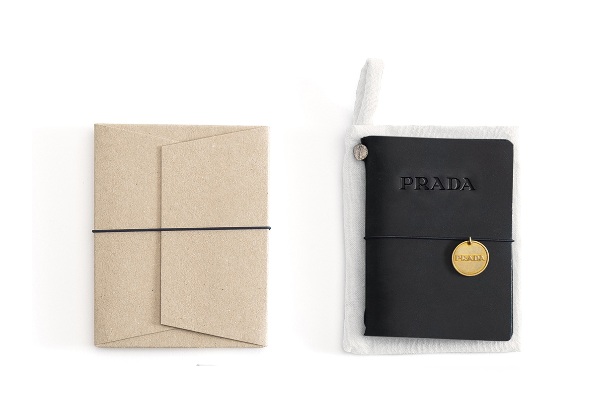 prada midori starionary escape limited notebook pen pencil