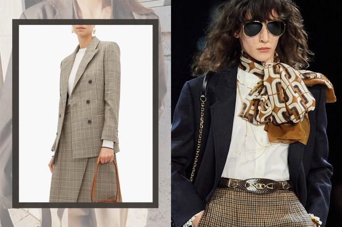 上流社會學院風今季再興起,怎能沒有一件經典的西裝外套?