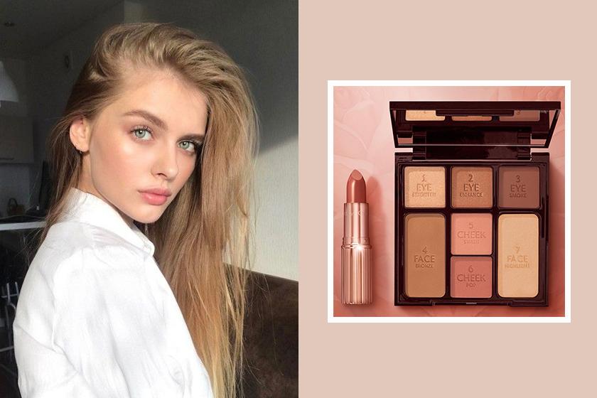 Charlotte tilburys new stoned rose beauty palette best selling lipstick shade