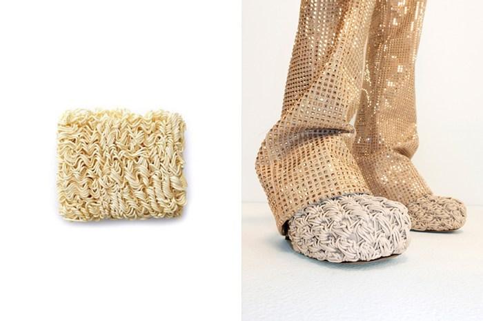 引起熱話:Bottega Veneta 最新鞋款設計意外與「方便麵」相似,你們覺得有像嗎?