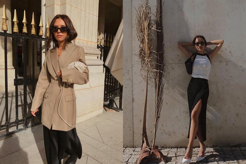 fashion blogger Deborab Rosa 155 cm