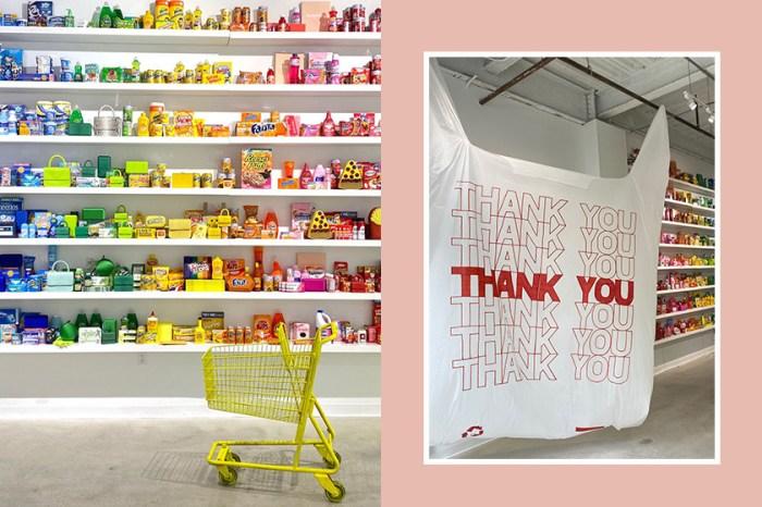 這一間用色彩來分類的超級市場,你會有興趣踏進去嗎?