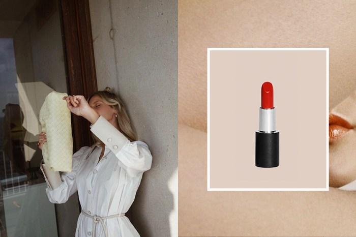小眾美學正發酵:Nanushka 與 La Bouche Rouge 合作推出極簡純素唇膏!