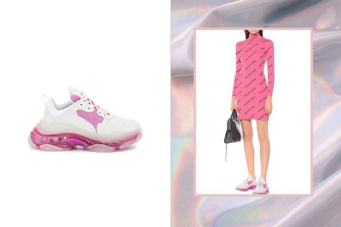 列入禮物清單:Balenciaga Triple-S 全新夢幻配色,為冬日畫上一道粉紅色彩!