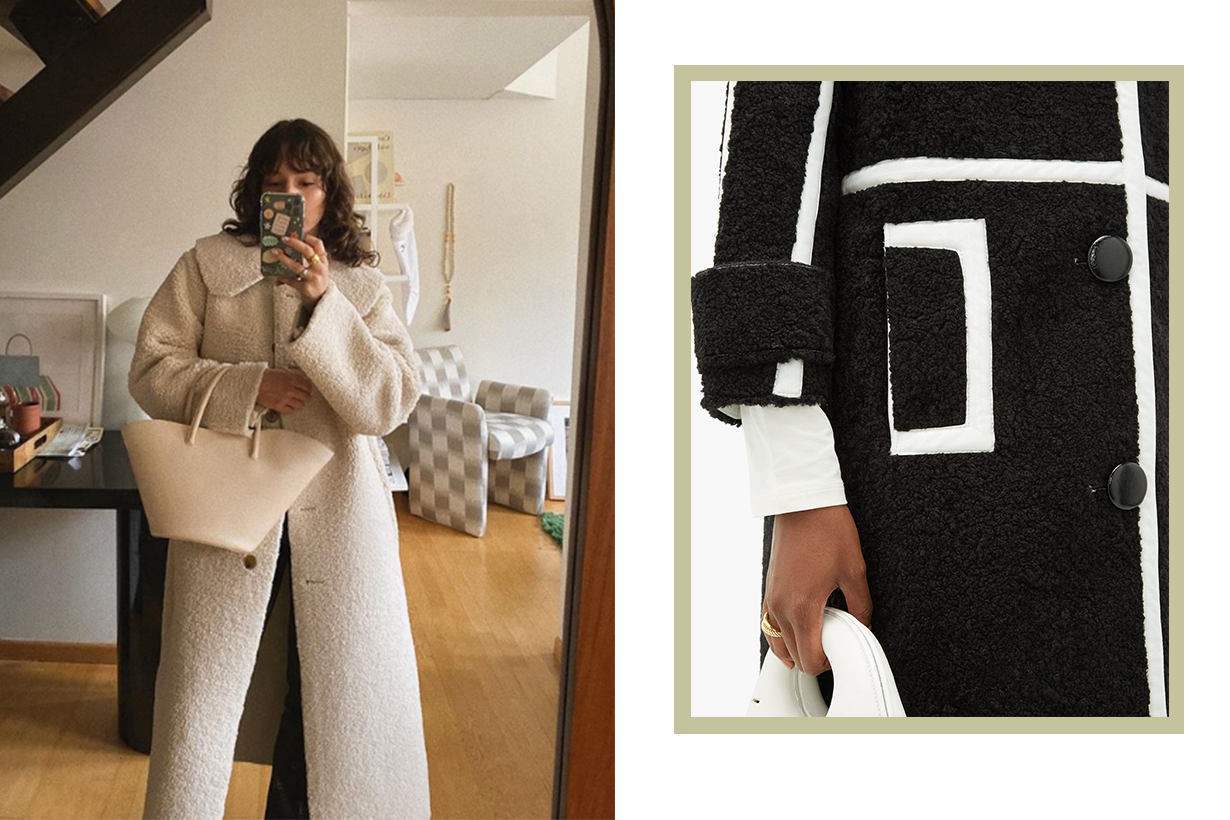 Shearling Jacket and Coat Trend