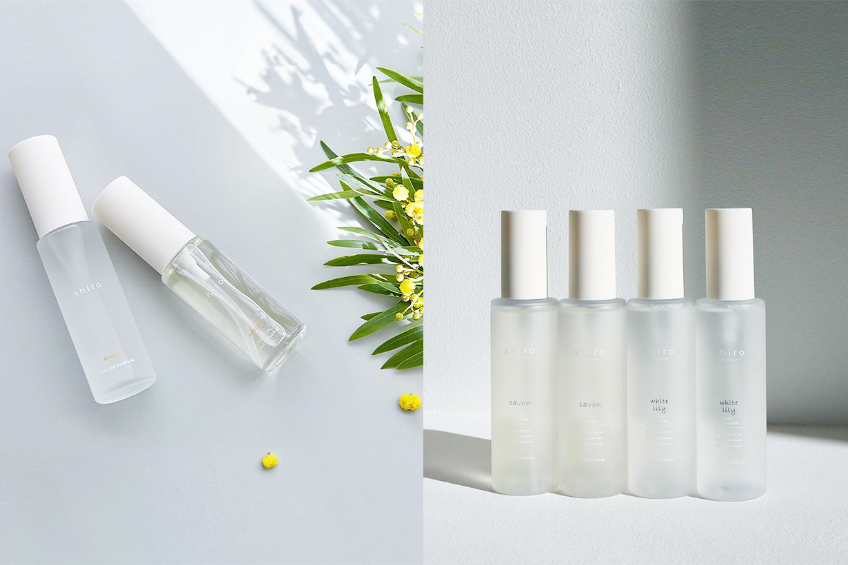 Shiro Be Proud perfume Fragrances Shiro Perfume Japanese beauty brand