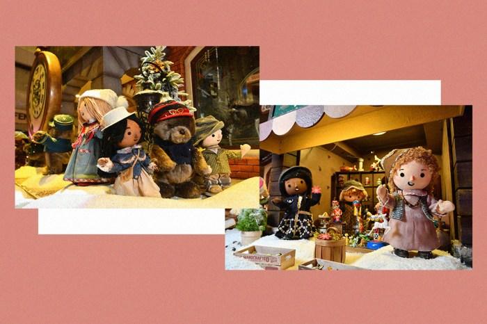 今個節日去中環一邊 High Tea,一邊欣賞聖誕小熊村莊!