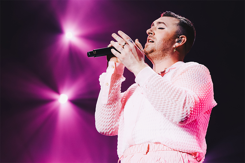 they merrian webster word of the year gender neutral nonbinary pronoun Sam Smith