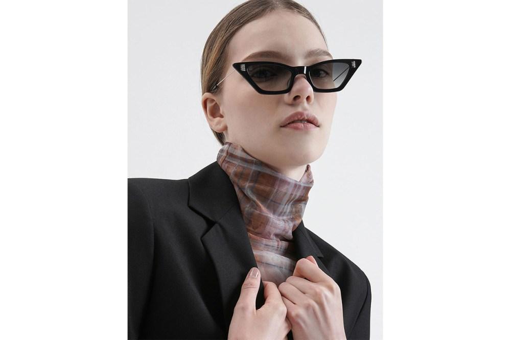 Thick Frame Cat-Eye Sunglasses