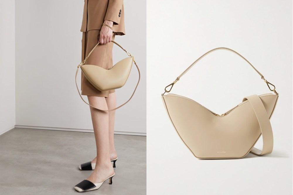 Tulip Leather Shoulder Bag