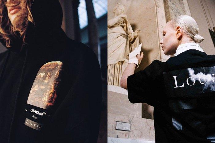 紀念達芬奇逝世 500 週年,Off-White X 羅浮宮跨界聯乘!