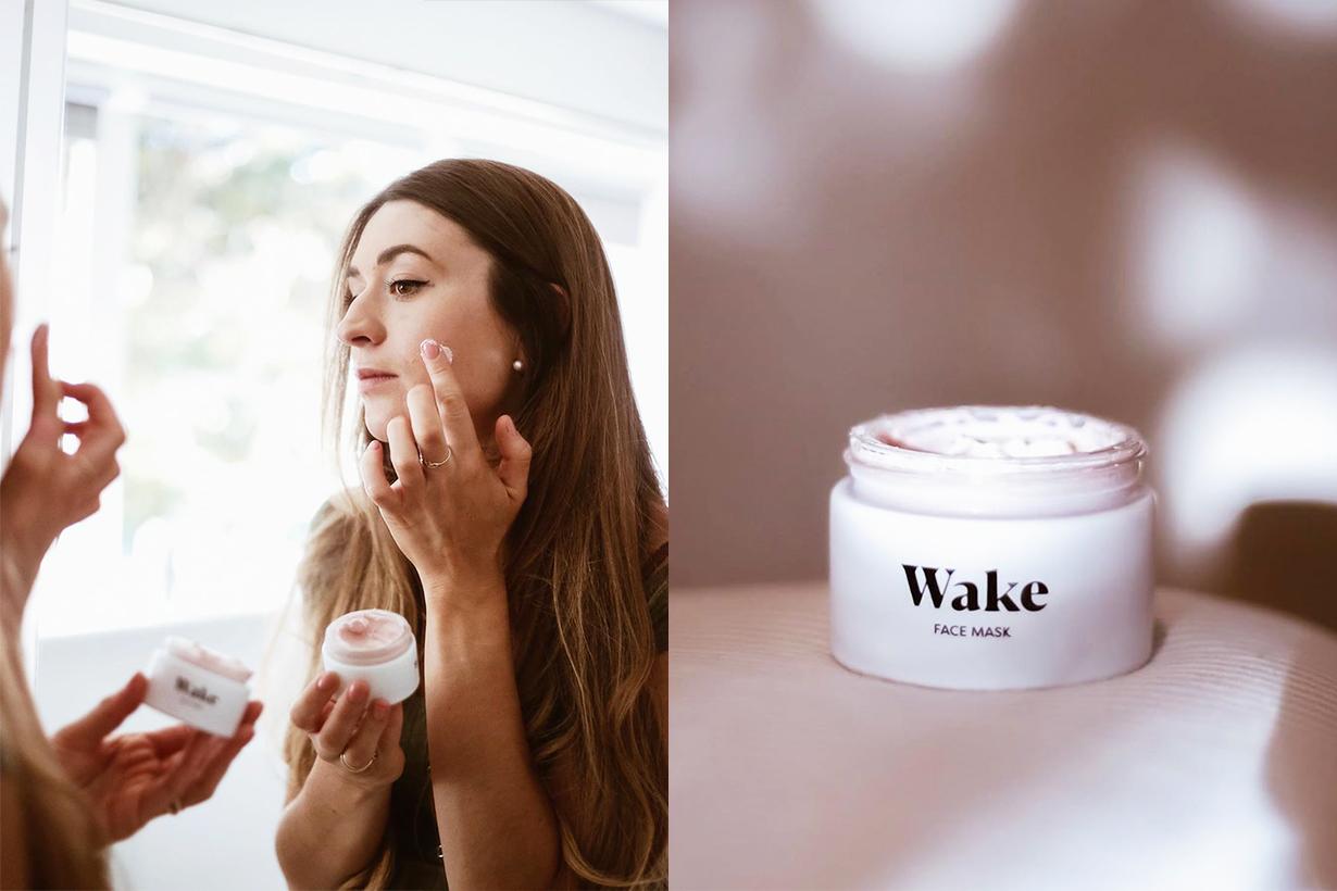 Wake Skincare Face Mask Acne Scar Pimples blemishes clay mask detoxifying skincare amazon