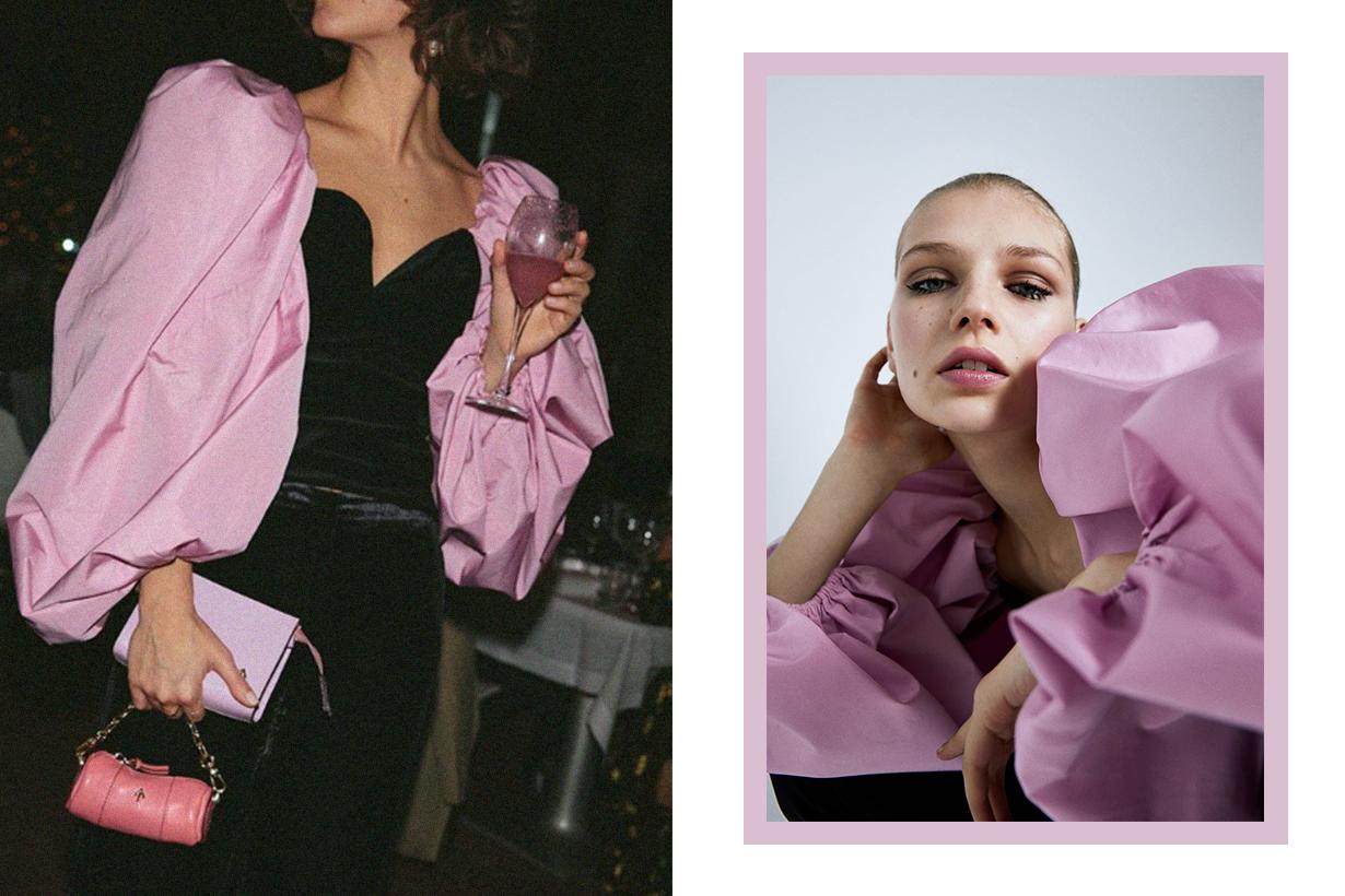 Zara Puff Sleeve Top for Party Season