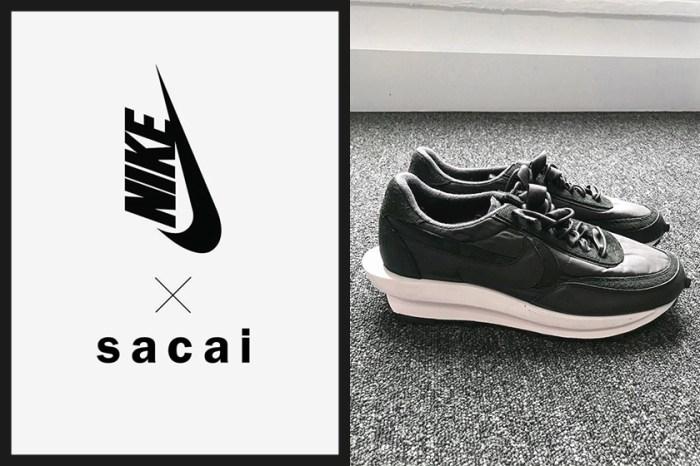 黑色極簡設計:sacai x Nike 再度放火!搶先近覽 LDWaffle 最新聯名鞋款!