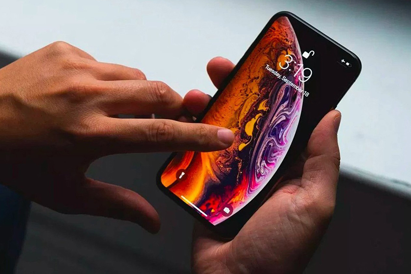 apple iphone 12 Face ID screen touch