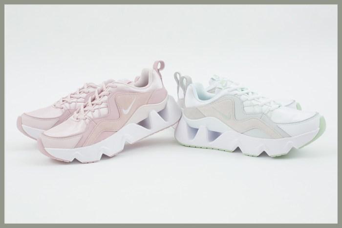 為秋冬帶來一抹溫柔:Nike 為人氣鏤空增高鞋推出嫩綠、淡粉新配色!
