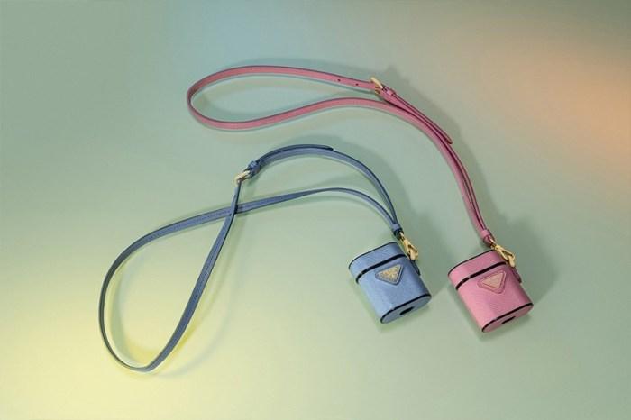 Prada 迷你手袋外型:讓人失心瘋的奢華 AirPods 保護殼再添一款!