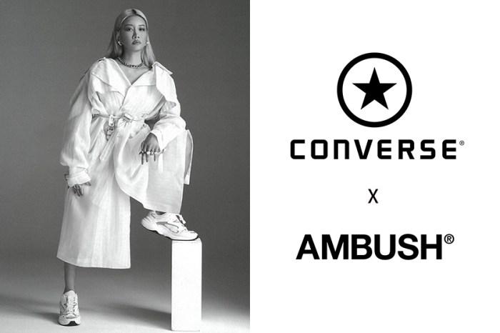 加入毛茸茸的 Pantone 色設計:下一雙 AMBUSH x Converse 聯名鞋款搶先曝光!