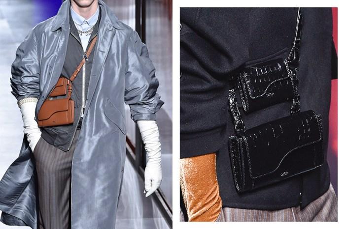 Dior 巴黎時裝週大秀上,一款肩背手袋引起許多時尚人關注!