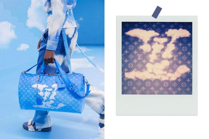 把天空帶上了伸展台:Louis Vuitton 在手袋中加入軟綿雲朵,實在太惹人愛!