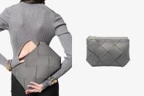 典雅的灰色高質皮革:Bottega Veneta 再度以這款手袋擄獲低調女生的心!