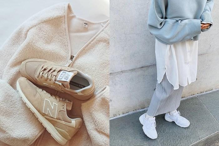 舒適又實搭的選擇:用一雙 New Balance 球鞋打造日本女生的 Cozy Style 穿搭!