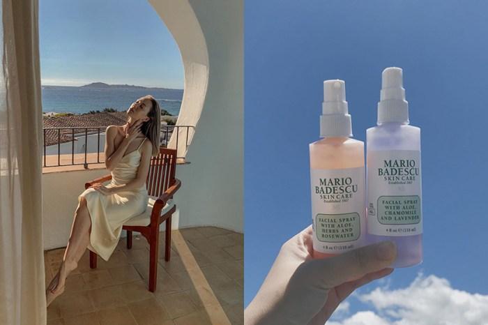 天然成分與多種用途:療癒香氣紅遍美容博主之間的 Mario Badescu 保濕噴霧!