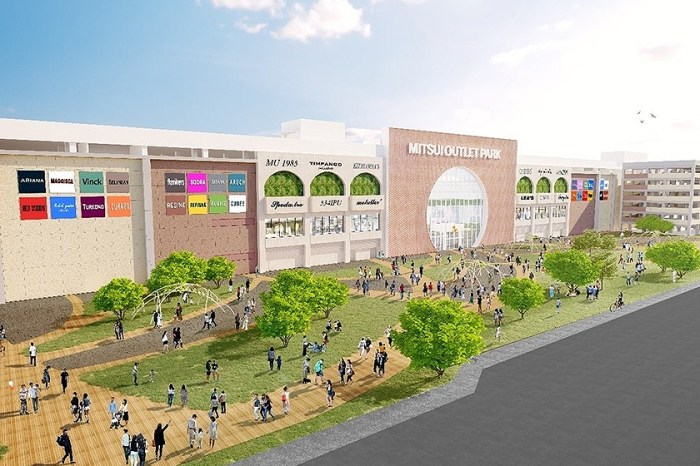 台中港之後,三井 Mitsui Outlet Park 這次選在台南落腳,預計將會有超過 200 間店舖!