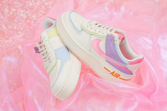 台灣販售消息:讓女生都心動的 Nike Air Force 1 Shadow 粉嫩配色!