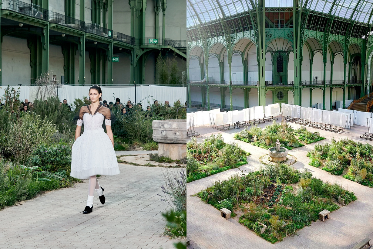 chanel 2020 ss haute couture grand palais Cistercian Abbey of Aubazine