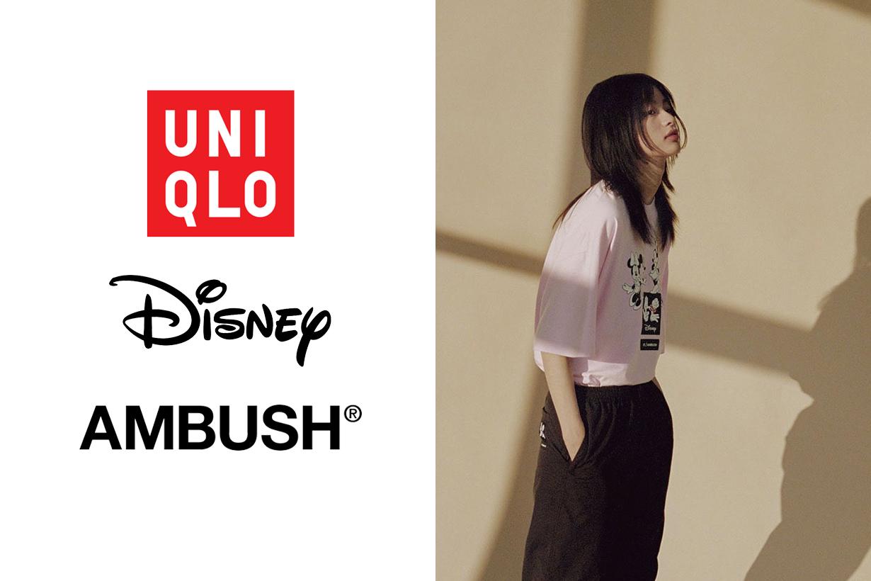 uniqlo disney ambush ut collection limited minnie