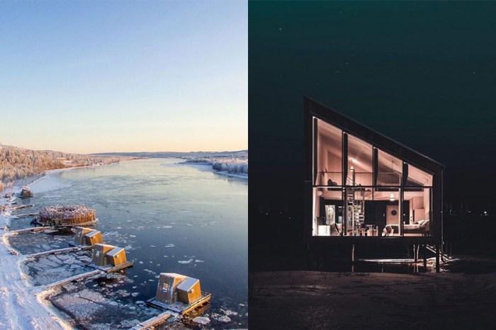 一年四季也能看到絕美景緻,難怪這間瑞典的漂浮酒店一開幕預約就滿了!
