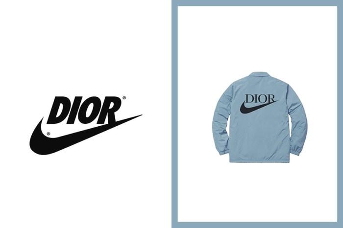 繼 Air Jordan 1 波鞋後:Dior x Nike 或將推出聯乘服裝系列,將與鞋款同步發售?