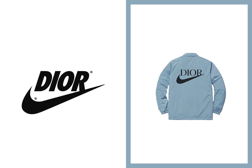 Dior x Nike collection 2020