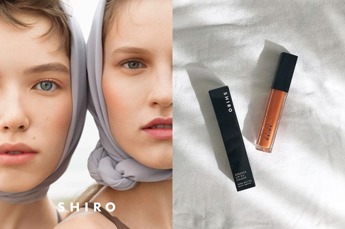 一張清新素雅的高級臉,北海道小眾品牌 Shiro 推出全新彩妝系列!