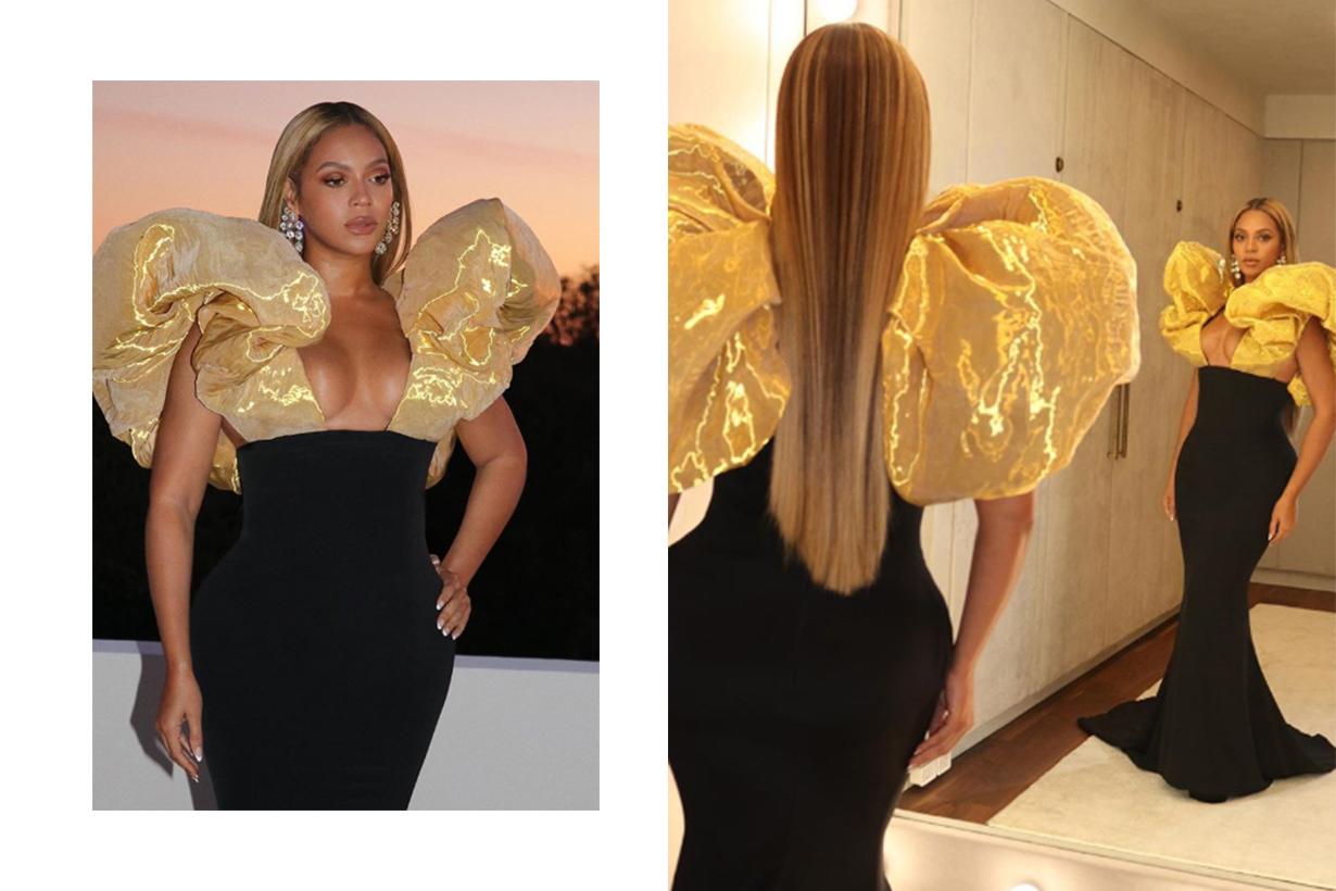 Beyoncé Stuns in Schiaparelli Couture at the 2020 Golden Globes