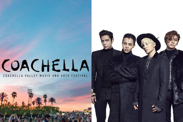 Big Bang 有望以完整體回歸?成員將於 4 月出演 Coachella 音樂節!