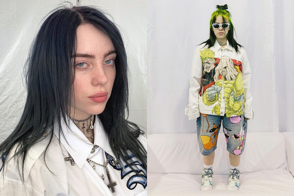 Billie Eilish Where Do We Go? World Tour concert Hong Kong Taiwan Celebrities Makeup Hairstyles Beauty Looks