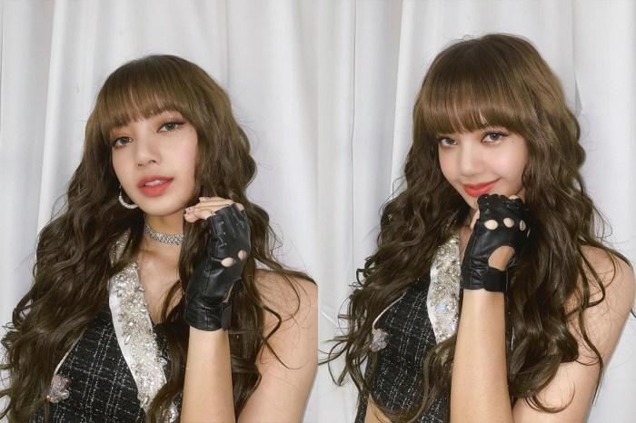 「人間芭比」名不虛傳!BLACKPINK Lisa 藍色眼妝造型在網絡掀起熱話!