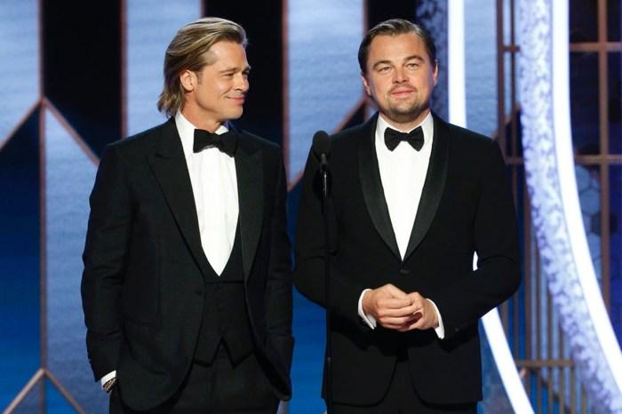 Brad Pitt 獲得最佳男配角時,致詞亦不忘取笑 Leonardo DiCaprio 於《鐵達尼號》的經典木筏一幕!