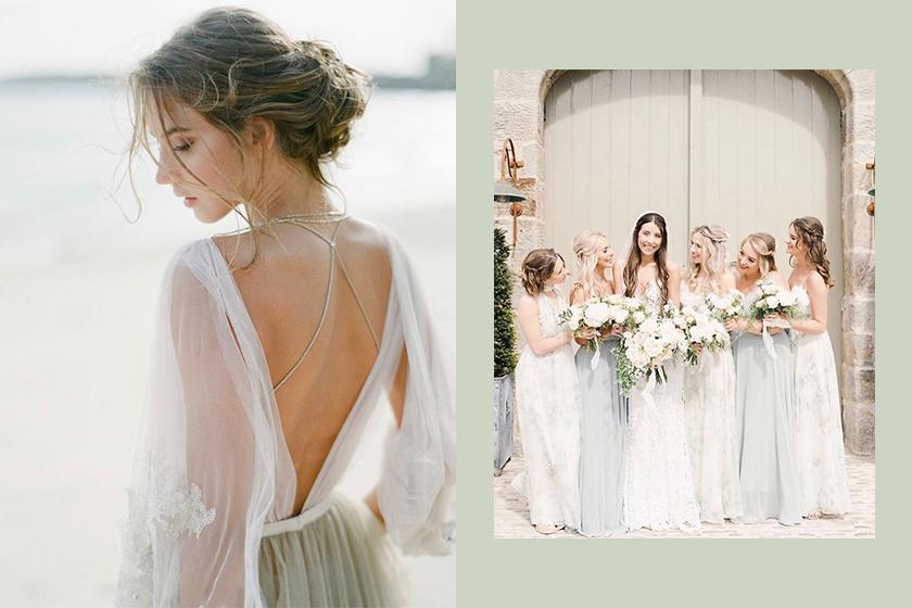 bridemaids dress asos
